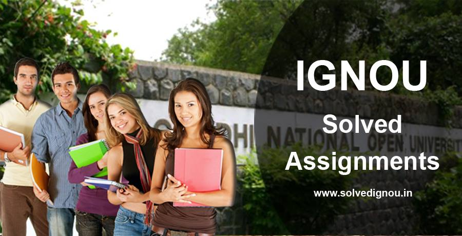 Ignou solved assignments at cheap price