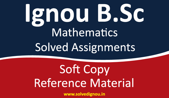 Ignou MTE Solved assignments