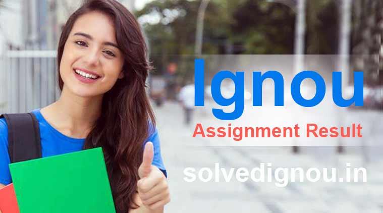 Ignou assignment result
